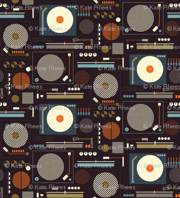 Bauhaus Records on Dark