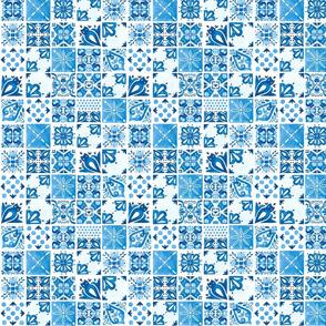 Spanish cat tiles
