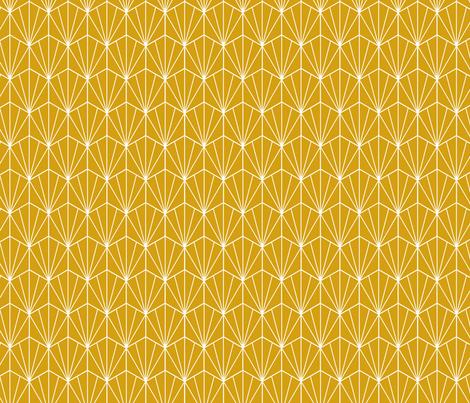 Geometric hex fabric by sarah_knight on Spoonflower - custom fabric