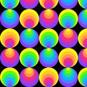 Perspective, Round, Rainbow