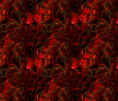 Fire fabric by stradling_designs on Spoonflower - custom fabric