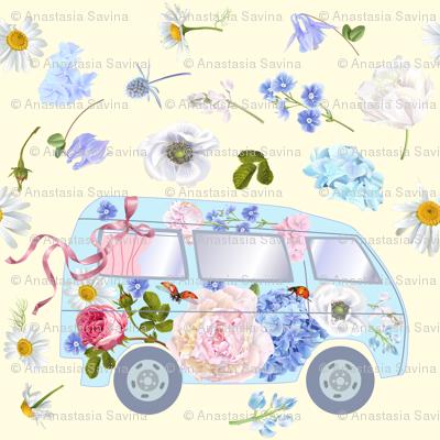 Floral bus