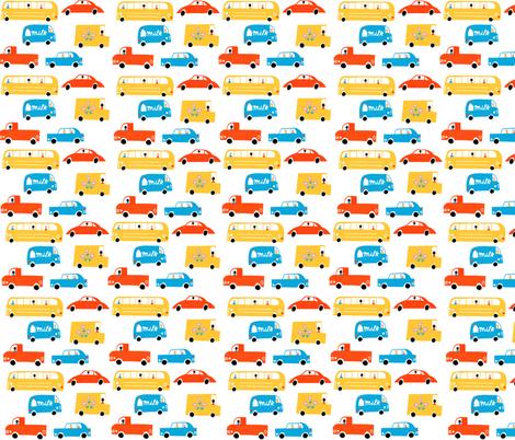 Traffic fabric by anda on Spoonflower - custom fabric