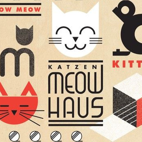 MEOWHAUS on Vintage Paper