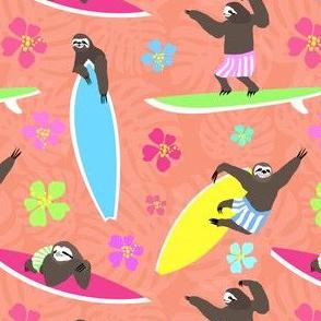 Surfing Sloths