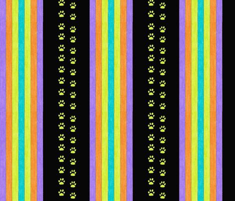 Midnight run fabric by debra_may_himes,_asid on Spoonflower - custom fabric
