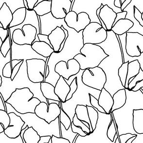 Floral_Contours_Black