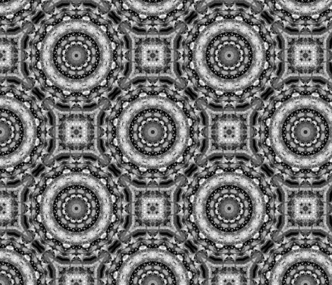Rose thorn cogs fabric by kristinebeyer on Spoonflower - custom fabric