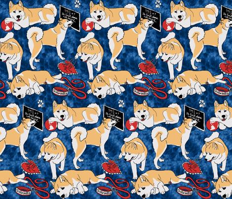 Princess Blossom fabric by hakuai on Spoonflower - custom fabric