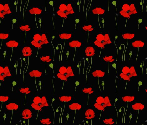 Rpoppies-scatter-black_shop_preview