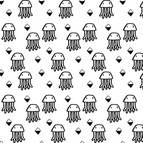 Sketchy-hand-drawn-jellyfish-design.-Animals-of-the-ocean-and-sea-