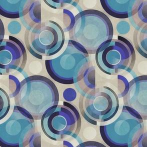 bauhaus circles blue