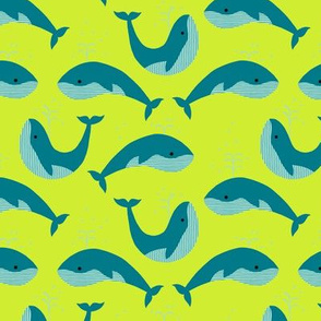 Whales on lime