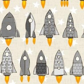 retro rockets mono