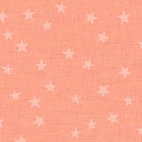 retro stars peach