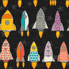 retro rockets graphite