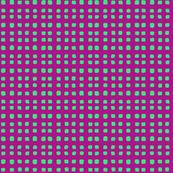 squares mint violet
