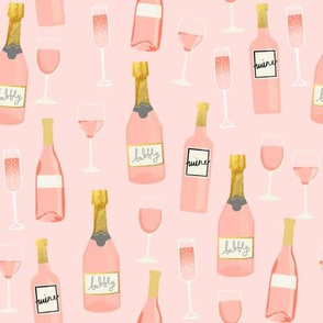 rosé all day wine fabric brunch pink