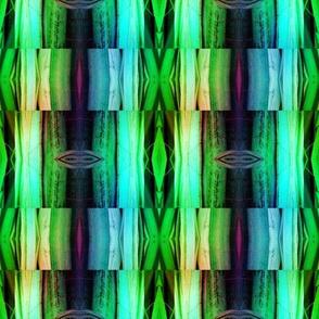bamboo 9 marquetery stripes blue aqua green rainbow