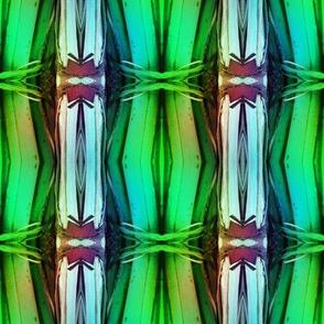 bamboo 11 stripes 1 blue aqua green rainbow