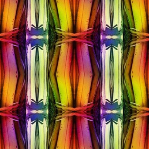 bamboo 11 stripes 1 gold orange yellow rainbow autumn
