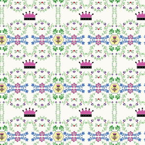 Queen Anne florals
