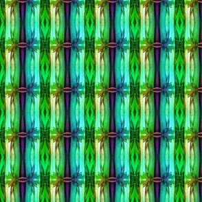 bamboo 13 stripes 3 blue aqua green