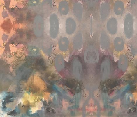 Hazel_soft light_1x1 fabric by milatextiles on Spoonflower - custom fabric