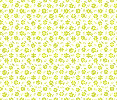 Bouquet (Sunrise) fabric by angelatackett on Spoonflower - custom fabric