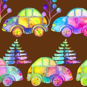 Rrrwatercolor_pretty_cars_procession_trafic_on_brown_by_paysmage_shop_thumb