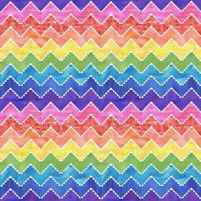 Festival chevron rainbow 2 MINI