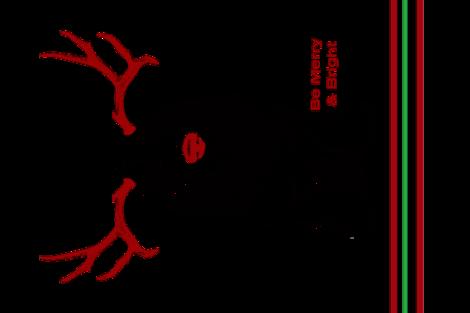 Christmas Dog Tea Towel  fabric by mariafaithgarcia on Spoonflower - custom fabric