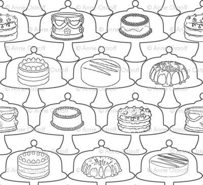 Cake-Coloring Frenzy
