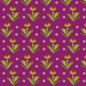 Dandelion repeat dark pink