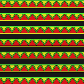 afrocentric inspired shapes
