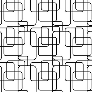 Boxes - Black and white