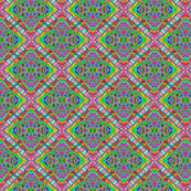 quatrefoil pink lemon