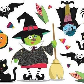 Witch & Vampire Halloween