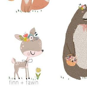 Woodland Bear & Friends