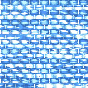 Blues rug weave J i  rag