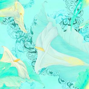calla lily fixed brighter