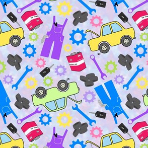 Mechanic Collage