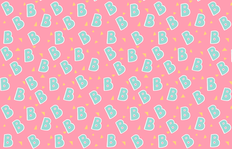 Bee's 90s Outfit fabric by donutdeity on Spoonflower - custom fabric