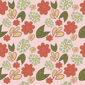 Peach Flowers 1