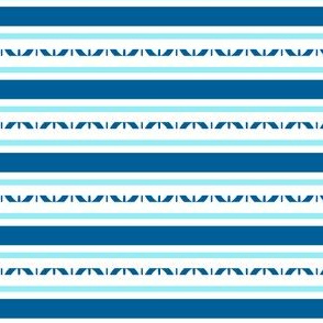 Blue and White Stripes for Party Decor