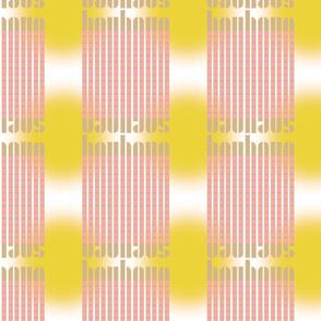 bauhaus stripe glow - blush/khaki/sun