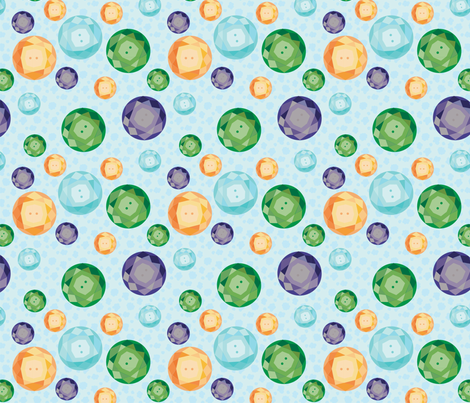 Glass Buttons fabric by make_much_studios on Spoonflower - custom fabric