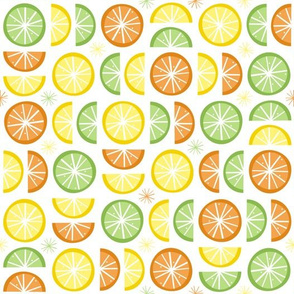 Citrus Slices (White)