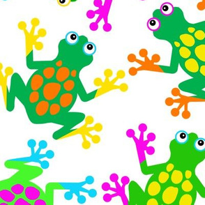 Sticky Finger Frogs