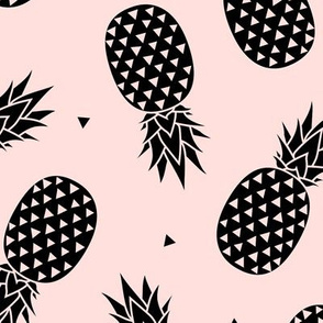 Pineapples - Black Blush